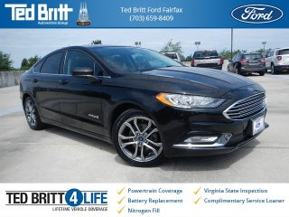 2017 Ford Fusion Hybrid Se In Fairfax Va Ted Britt Automotive Group